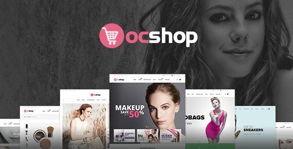 Ves OC Shop Responsive Magento Theme - Shopping Magento