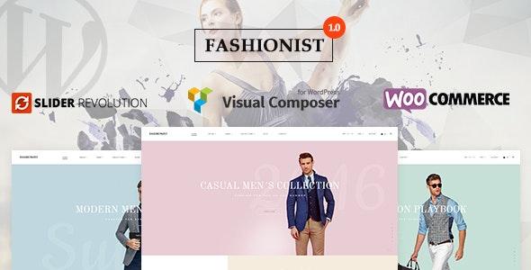 Fashionist - WooCommerce WordPress Theme - WooCommerce eCommerce