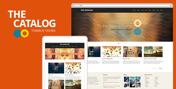 The Catalog Tumblr Theme - Portfolio Tumblr