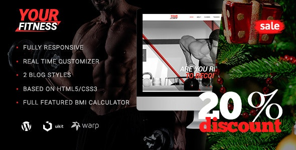 YourFitness — Sport WordPress Theme for Fitness Club or Gym - Health & Beauty Retail