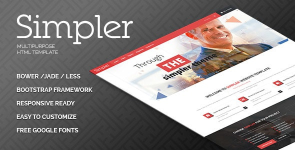 Simpler HTML Template - Business Corporate