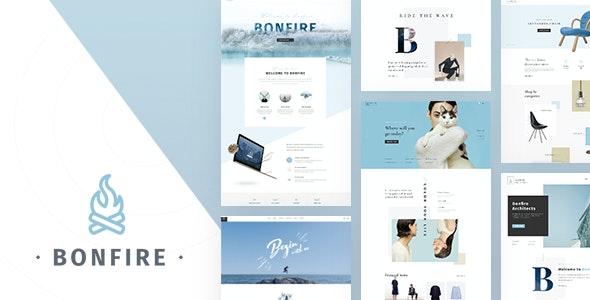 Bonfire - Creative Multi-Purpose PSD Template - Creative Photoshop