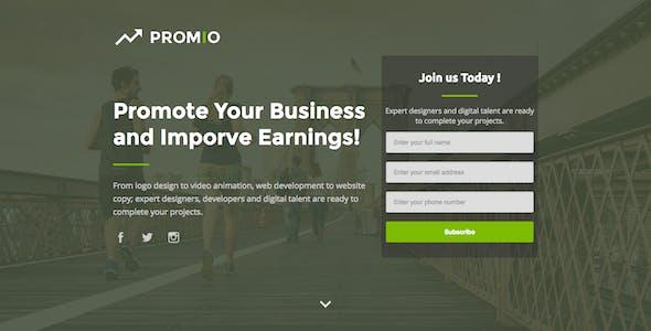 PROMIO - Marketing Multipurpose HTML Landing Page