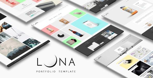 LUNA - Creative Portfolio And Agency HTML Template - Portfolio Creative