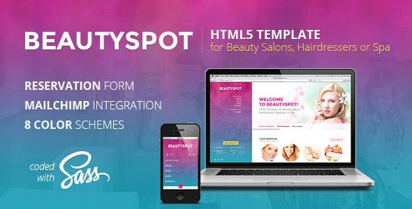 BeautySpot - HTML Template for Beauty Salons - Health & Beauty Retail