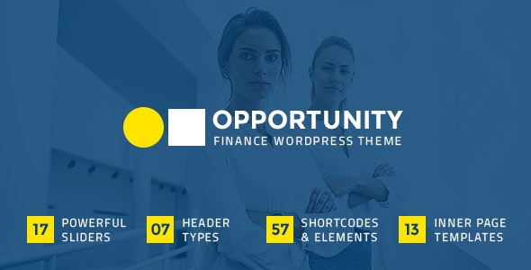 Opportunity - Finance Business Theme - Business Corporate