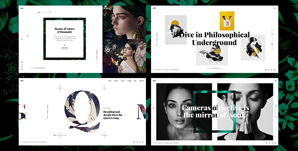 Ivy - Uniqe and Creative Photography/Portfolio/Agency HTML Template - Creative Site Templates