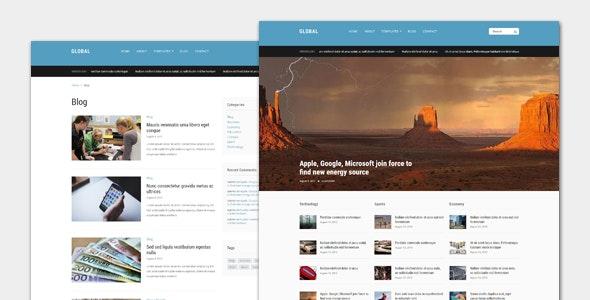Global - Magazine WordPress Theme - Personal Blog / Magazine