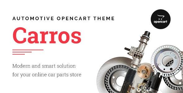 Carros — Car Parts OpenCart Theme - Technology OpenCart