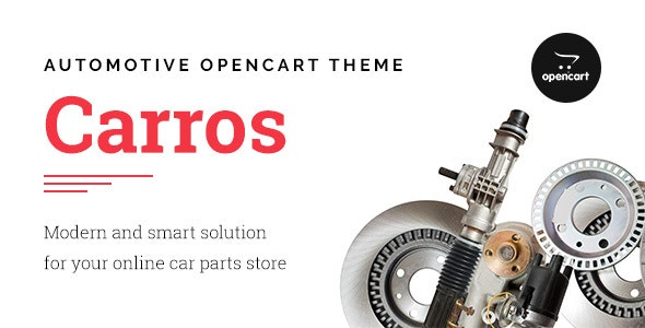Carros — Car Parts OpenCart Theme - Technology OpenCart