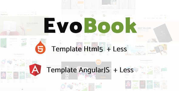EvoBook Multi-Purpose Ecommerce Template - Shopping Retail