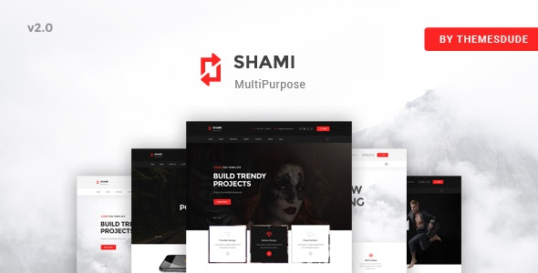 SHAMI - A Stunning and Creative Multipurpose HTML Template - Creative Site Templates