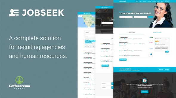 Jobseek - Job Board WordPress Theme - Directory & Listings Corporate