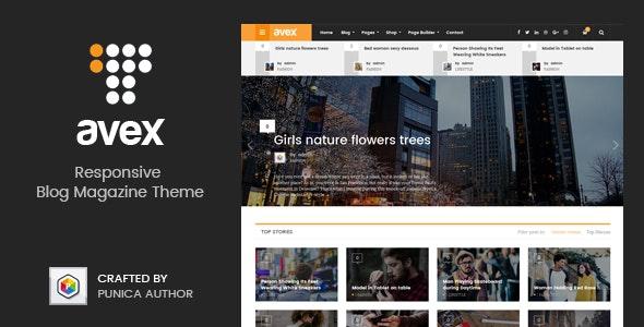 Avex - WordPress Magazine Theme - Blog / Magazine WordPress