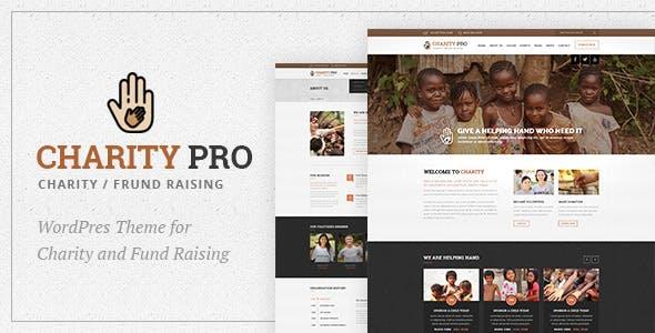 Charity Pro : Fund Raising WordPress Theme