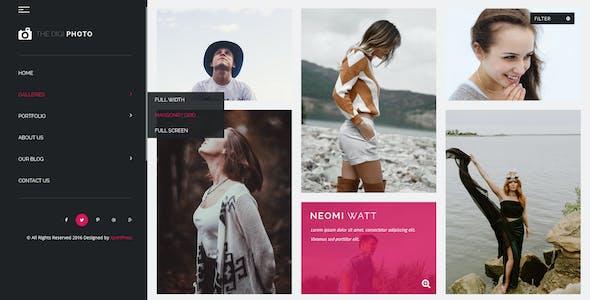 DigiPhoto Uniqe and Creative Photography / Resume / CV / Portfolio / Agency HTML Template