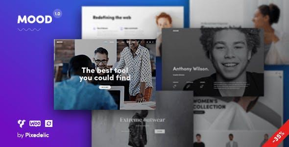 MOOD Creative MultiPurpose WordPress Theme