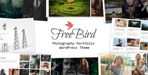 FreeBird - Photography Portfolio WordPress Theme