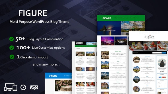 Figure - Blog / Magazine WordPress Blog Theme - Personal Blog / Magazine