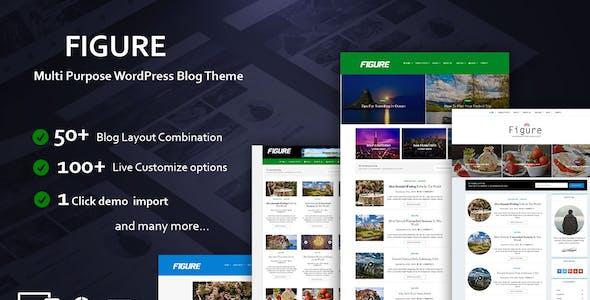 Figure - Blog / Magazine WordPress Blog Theme
