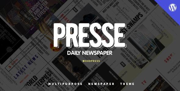 Presse - WordPress Magazine News Theme - Blog / Magazine WordPress
