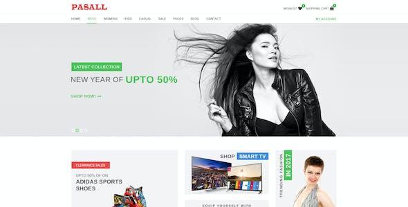 Pasall - Modern eCommerce PSD template