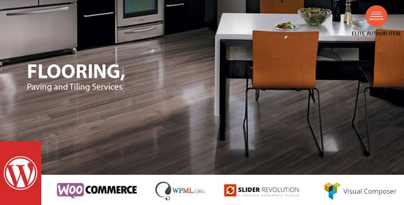 Flooring - Paving and Tiling Services