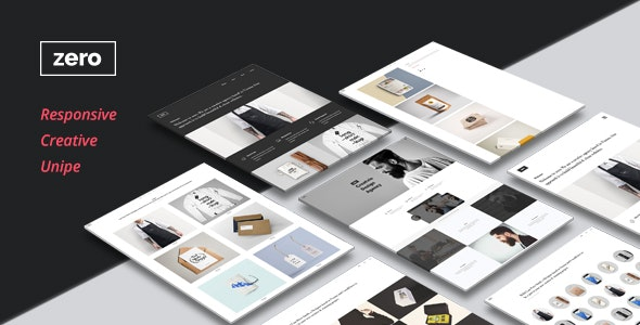Zero - Portfolio Theme - Creative Muse Templates