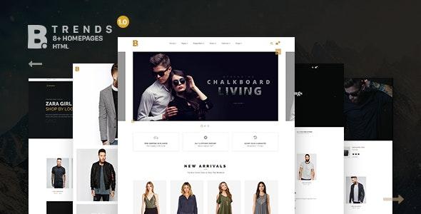 B - Trends Ecommerce Multipurpose HTML Template - Shopping Retail