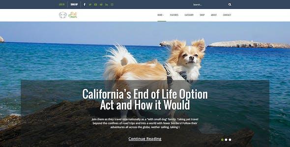 Pet Town - Blog & Shop Template