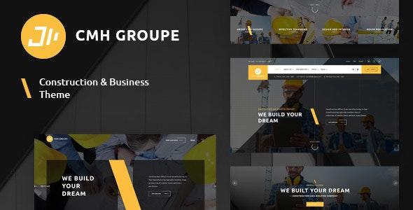 CMH Group - Building & Construction WordPress Theme - Retail WordPress