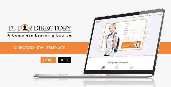 Tutor Directory HTML