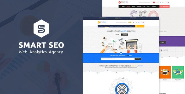 SMART SEO | Modern SEO & Marketing WordPress Theme - Marketing Corporate