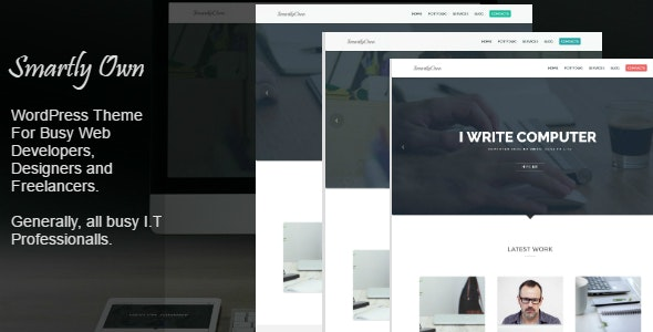 Smartly Own - WordPress Theme For I.T Professionals - Creative WordPress