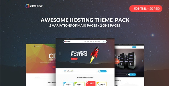 ProHost - Power Pack Hosting HTML Theme - Hosting Technology