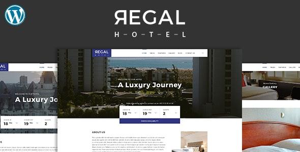 Regal - Hotel WordPress Theme - Travel Retail