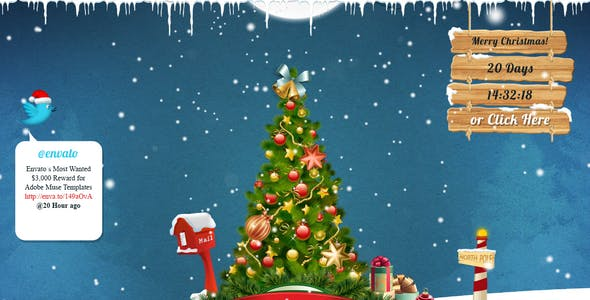 Noelle - Christmas Landing Page Template