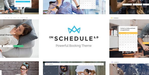OnSchedule - Retail Booking Theme - Business Corporate