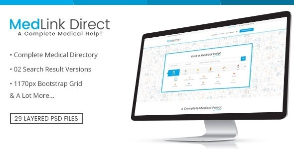 Doctor Directory - PSD Template - Business Corporate