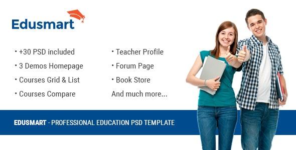 Edusmart Education PSD Template - Miscellaneous Photoshop
