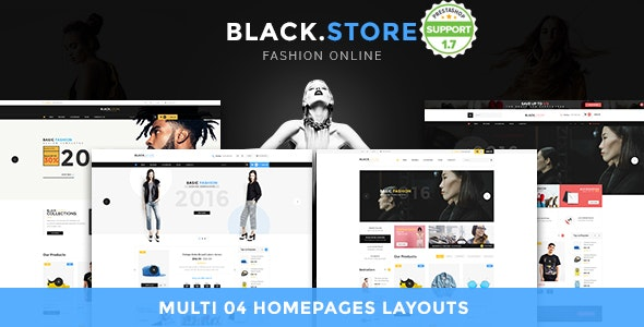 Pts Blackstore - Fashion Prestashop 1.7 Theme - Fashion PrestaShop