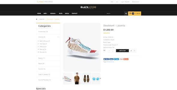 Pts Blackstore - Fashion Prestashop 1.7 Theme