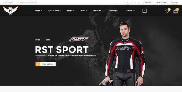 Motor Vehikal - Motorcycle Online Store WordPress Theme