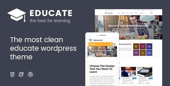 Educate - Education WordPress Theme - Education WordPress
