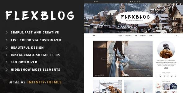 Flexblog -  A Personal WordPress Blog Theme
