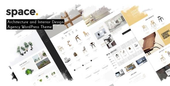 Space - Interior Architecture Furniture WooComerce WordPress Theme - WooCommerce eCommerce