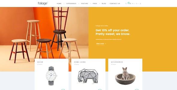 Pts Foliage - Creative Prestashop Themes 1.6 & 1.7 for Home Decor, Minimal & Furniture Shop