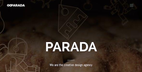 Parada   Creative Agency Muse Template