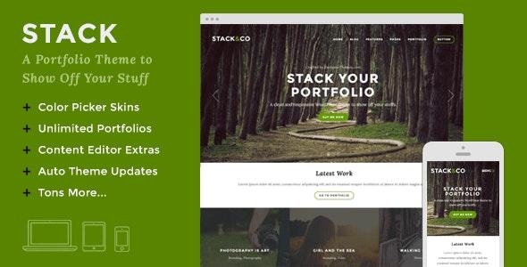 Stack – Responsive WordPress Portfolio & Photography Theme - Portfolio Creative