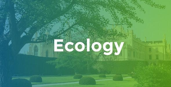 Ecology - Environment & Non-Profit - Environmental Nonprofit
